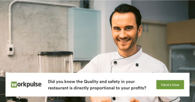 Did you know the Quality and Safety in your restaurant is directly proportional to your profits? Here's how: