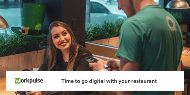 Time to go digital with your restaurant